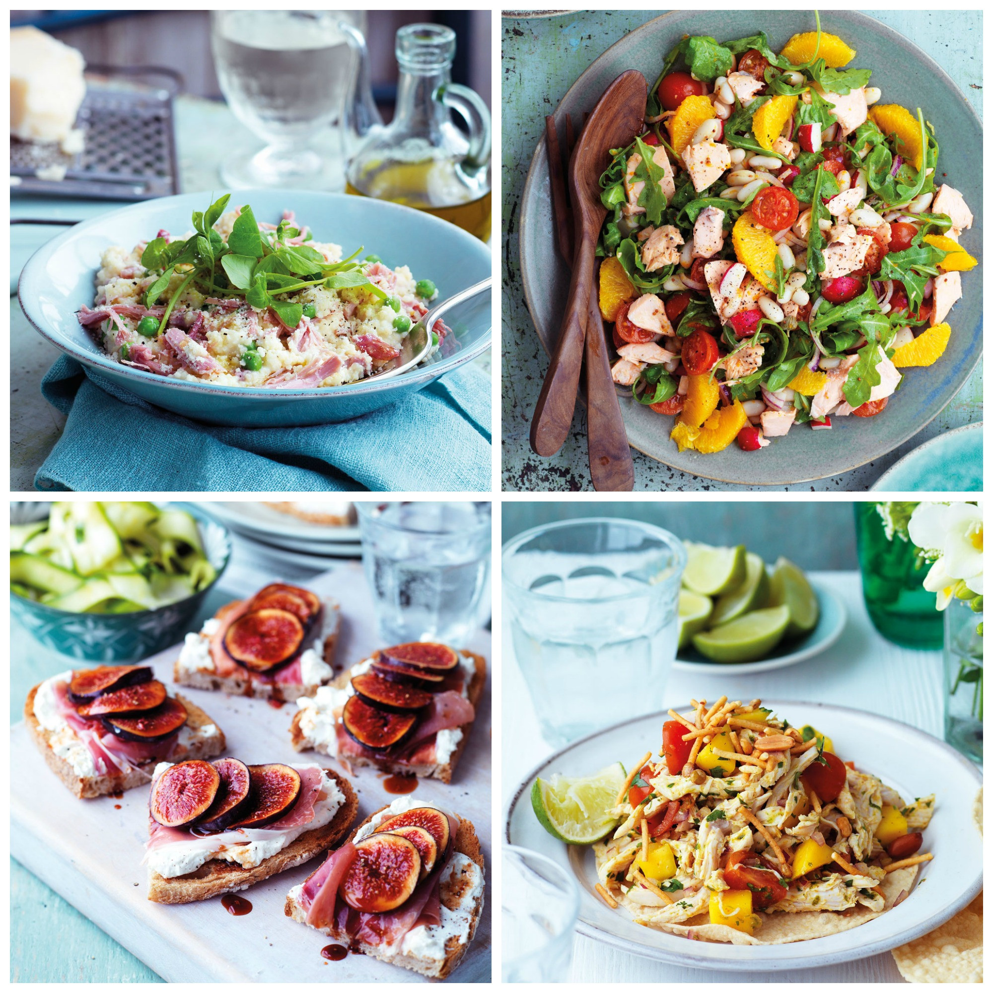 Summer Main Dishes  Easy no cook meals tasty Summer recipes that don t