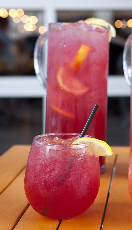 Summer Mixed Drinks With Vodka  CIROC POMEGRANATE LEMONADE