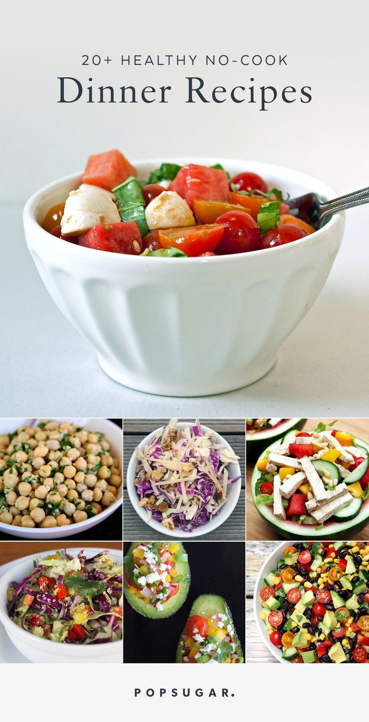 Summer Night Dinners  22 No Cook Dinner Recipes When Nights Are Hot and You Need