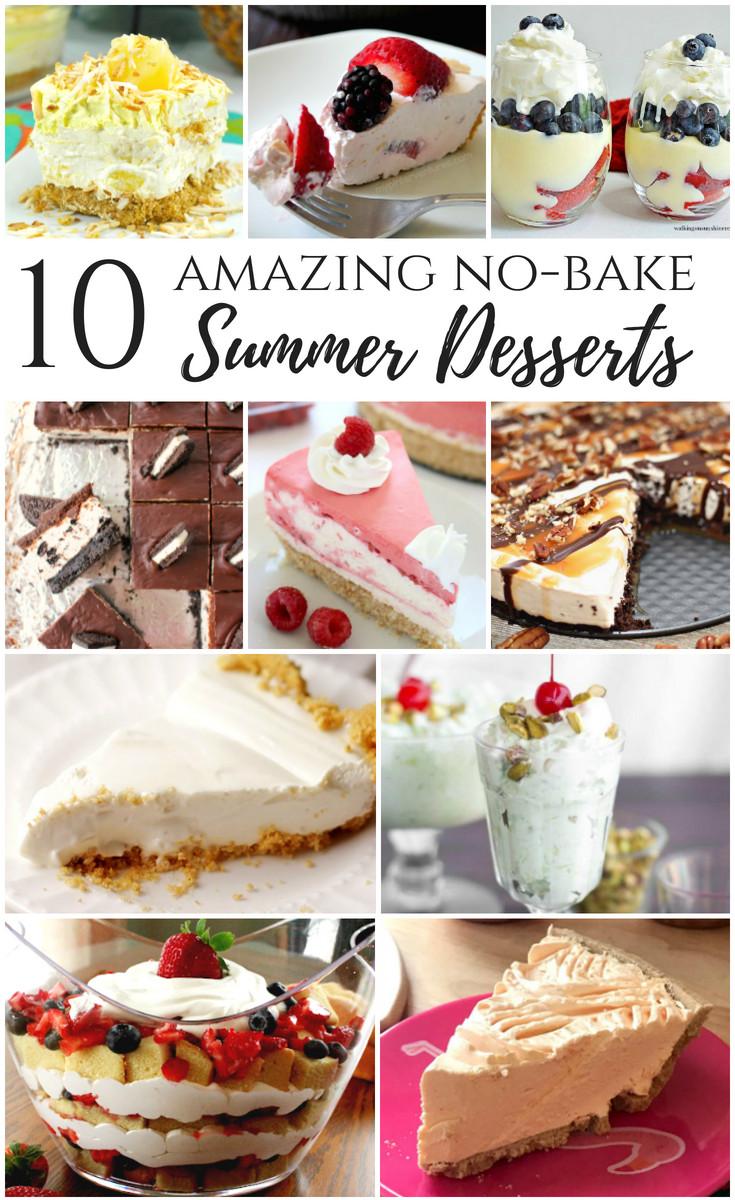 Summer No Bake Desserts  10 Amazing No Bake Summer Desserts No Heat or Oven Required
