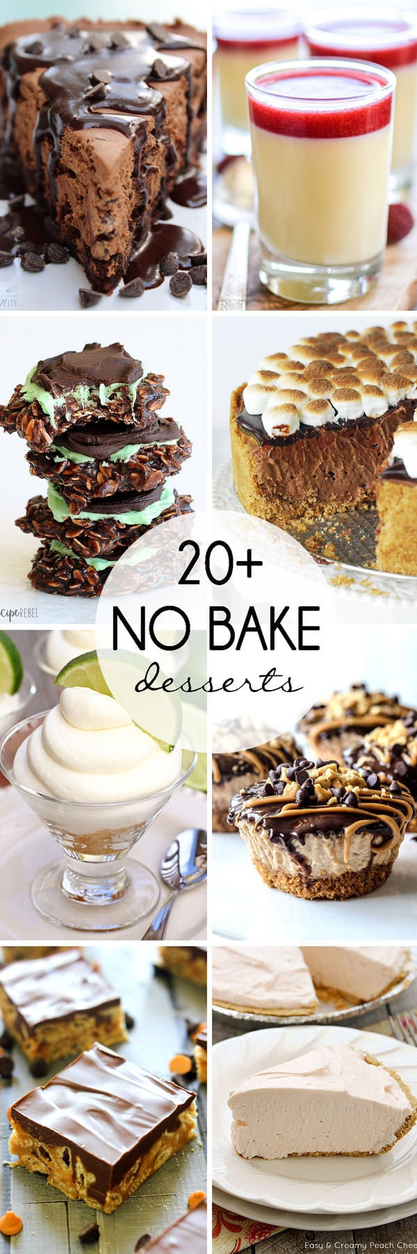 Summer No Bake Desserts  20 No Bake Desserts