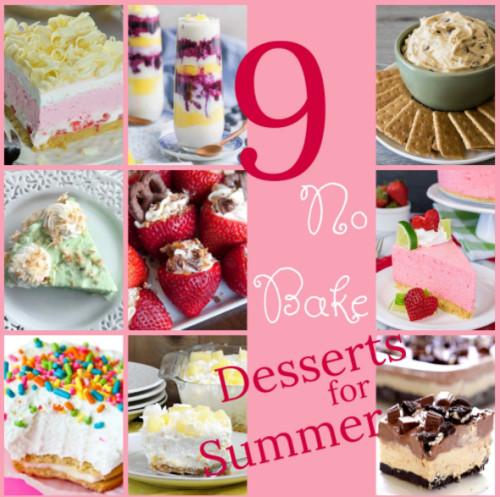 Summer No Bake Desserts  9 Delicious No Bake Summer Desserts