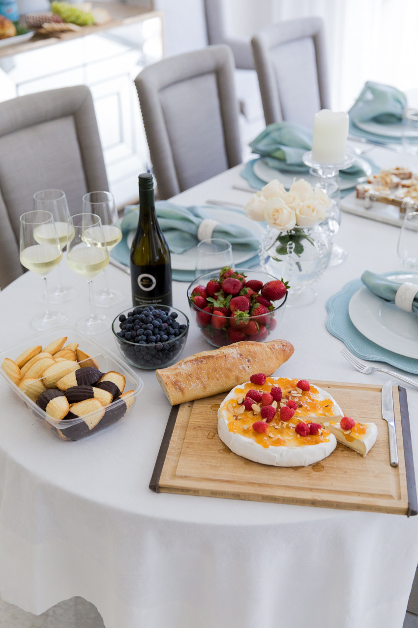 Summer Party Desserts  Brie for Dessert Fashionable Hostess