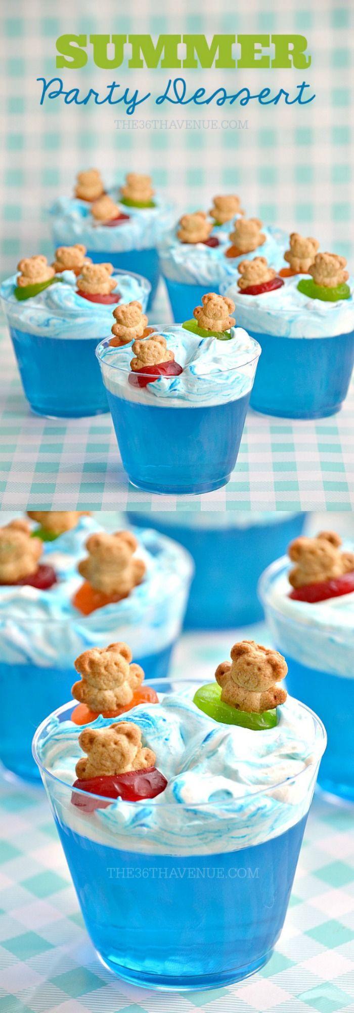 Summer Party Desserts  Die besten 25 Pool party snacks Ideen auf Pinterest