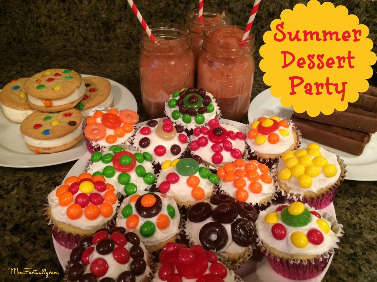 Summer Party Desserts  summer dessert party