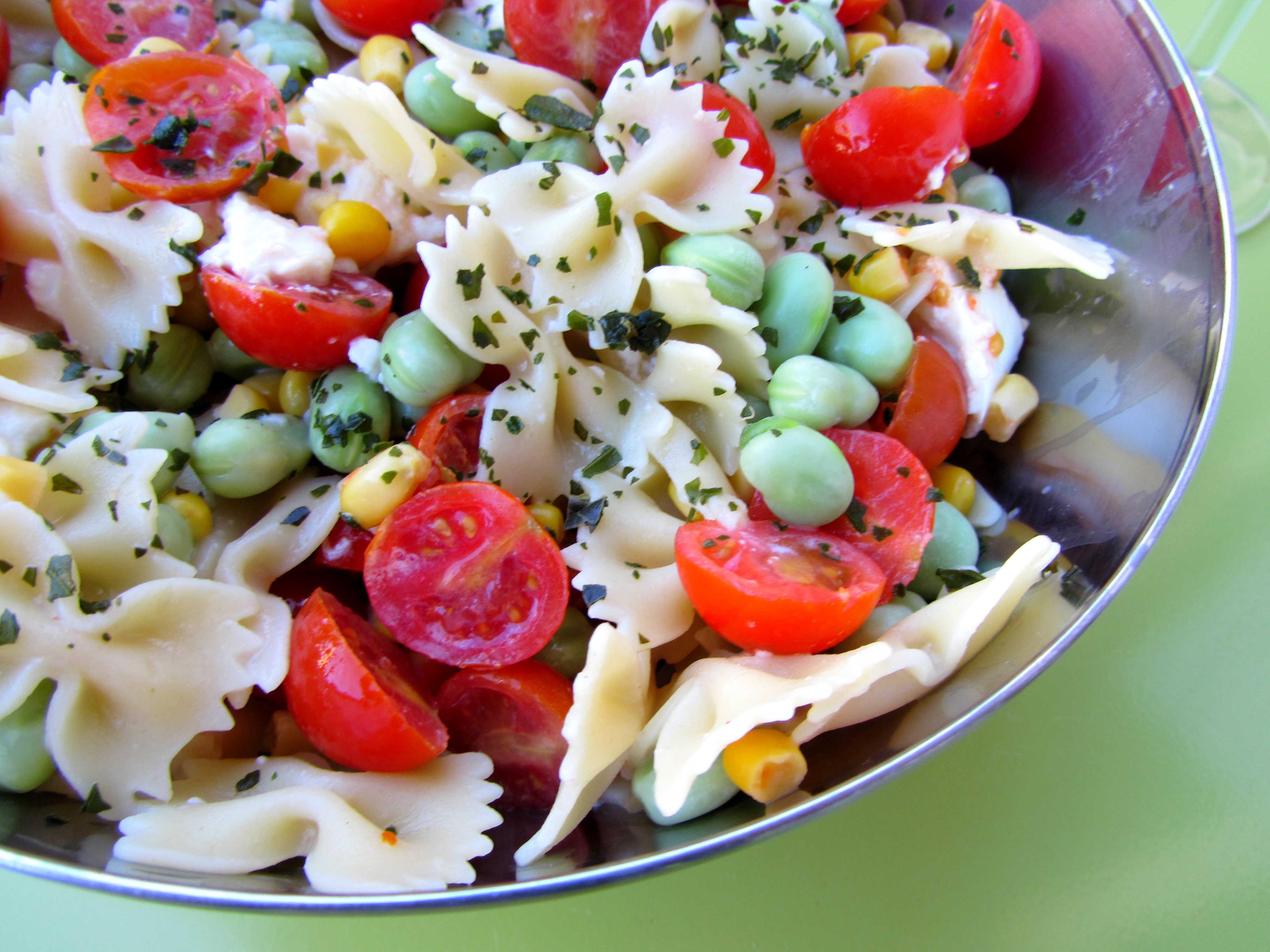 Summer Pasta Salad  summer spaghetti salad