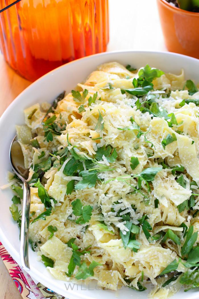 Summer Pasta Sauces  Fresh Summer Pasta with Plugra Ricotta Sauce Willow Bird