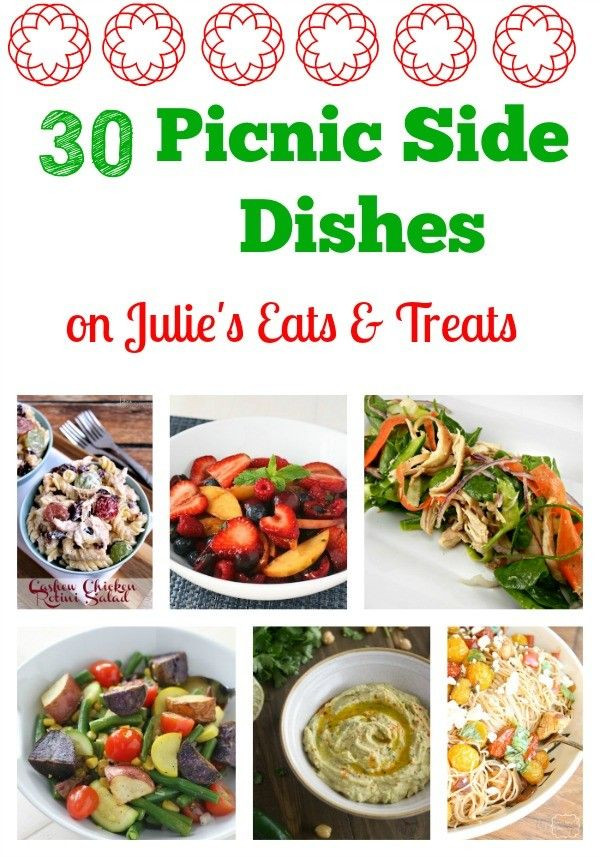 Summer Picnic Side Dishes  30 Picnic Side Dishes by Julie Evink