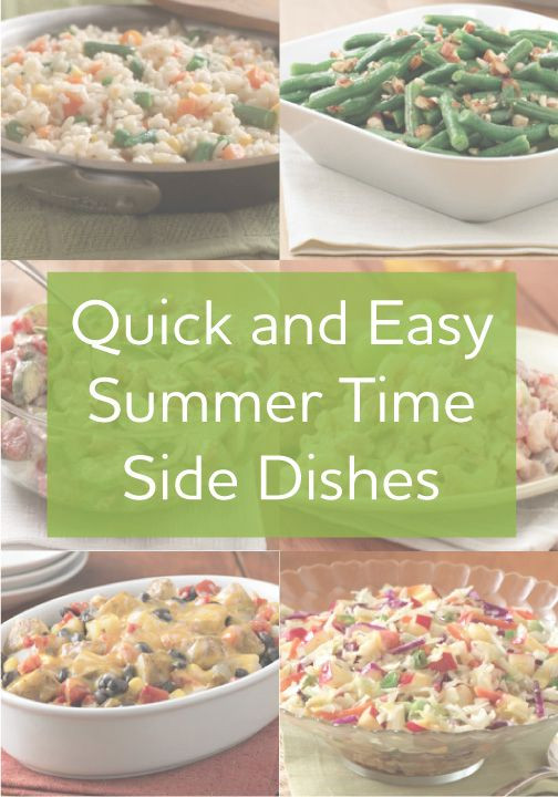 Summer Picnic Side Dishes  Try these great new side dishes for your summer parties