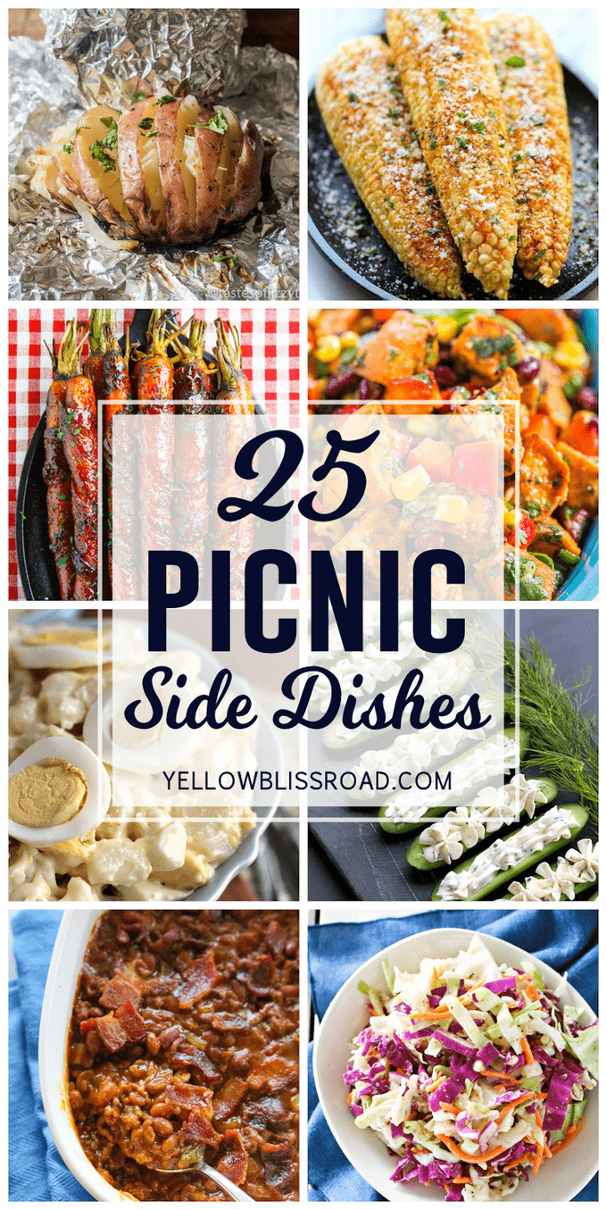 Summer Picnic Side Dishes  25 Picnic Side Dishes Yellow Bliss Road