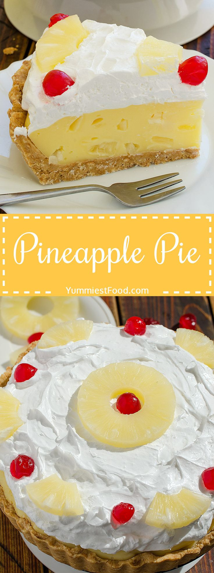 Summer Pie Recipes  100 Pineapple Pie Recipes on Pinterest