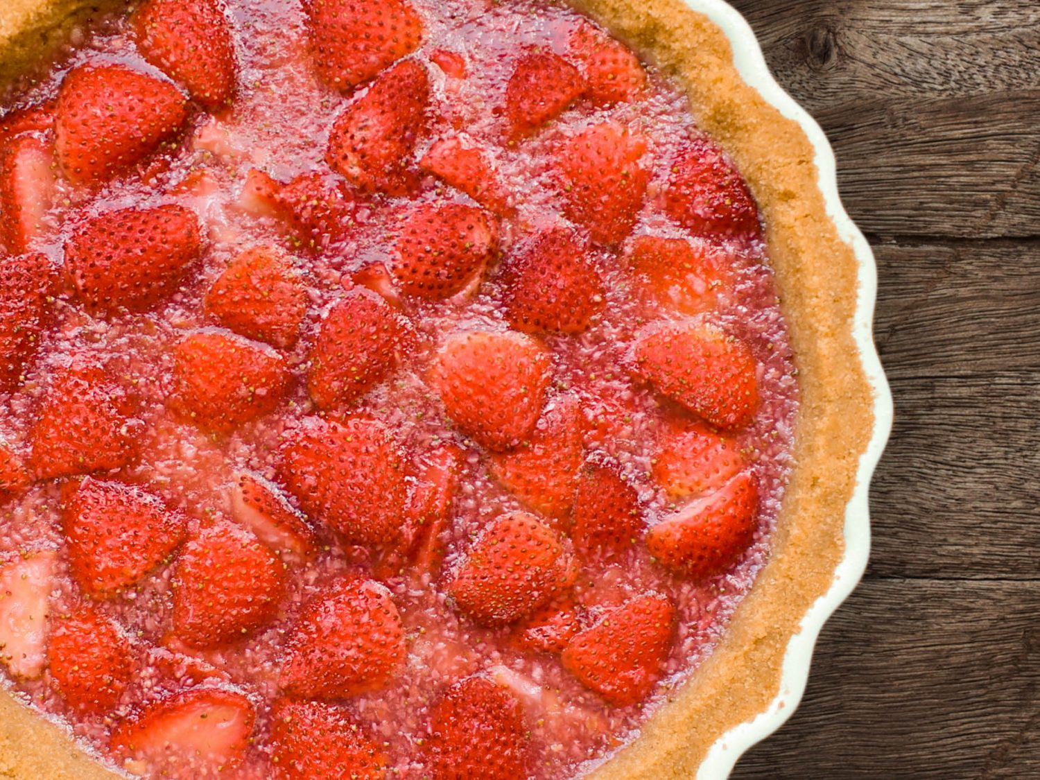 Summer Pie Recipes  Summer Strawberry Pie Recipe
