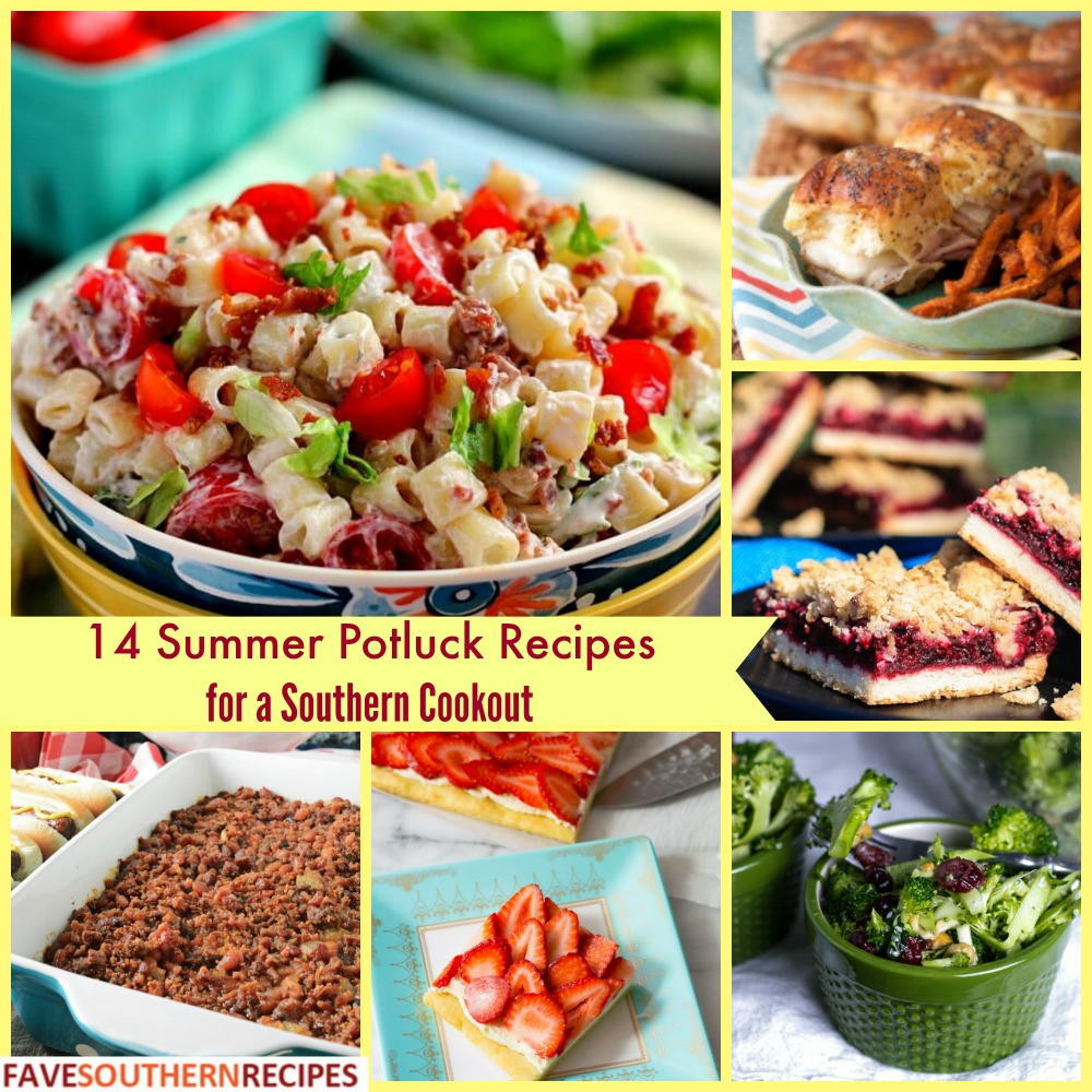 Summer Potluck Desserts  14 Summer Potluck Recipes for a Southern Cookout