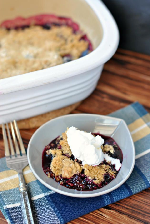 Summer Potluck Desserts  137 best images about Desserts Blueberry Cherry