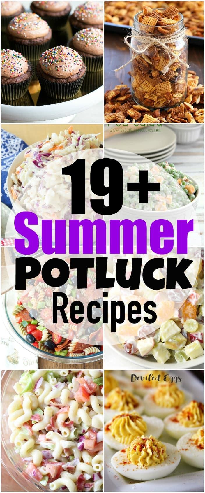 Summer Potluck Desserts  19 Summer Potluck Recipes Yummy Healthy Easy