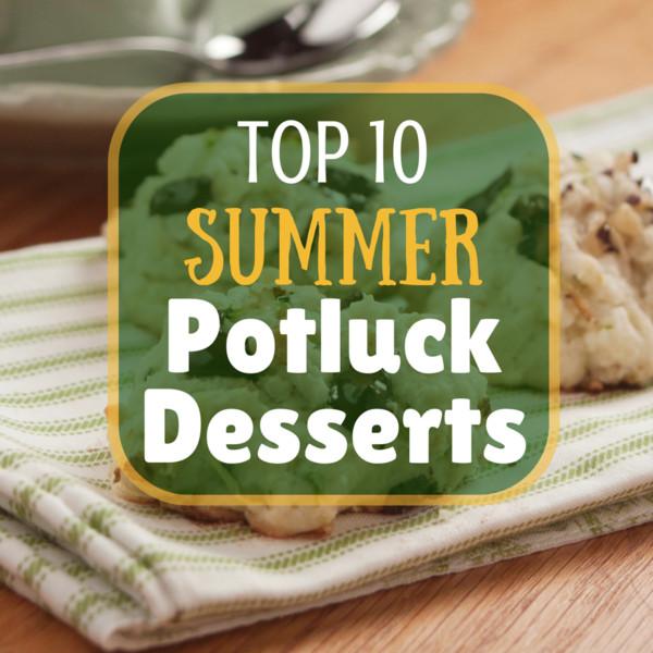 Summer Potluck Desserts  1 Votes