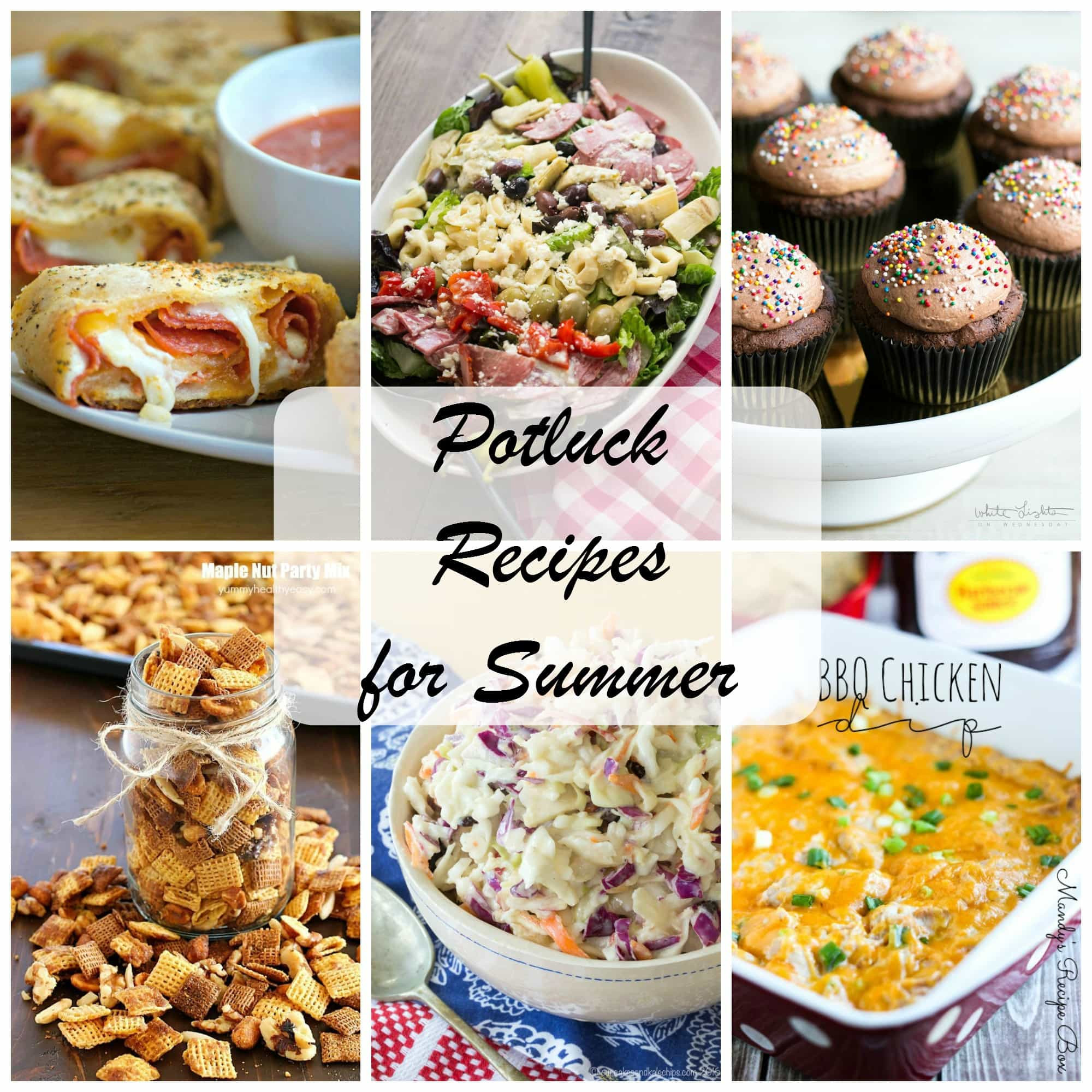 Summer Potluck Desserts  Summer Potluck Recipes 365 Days of Baking and More