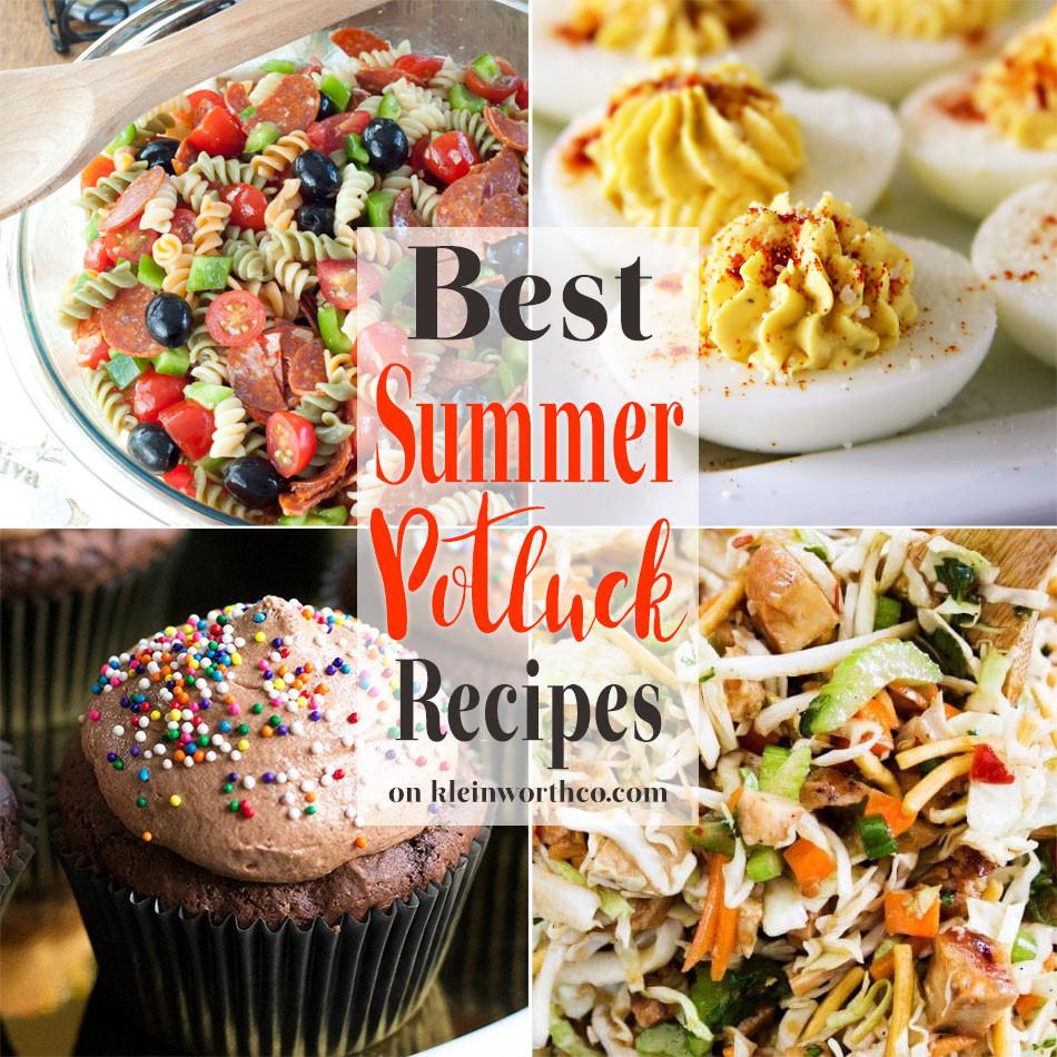 Summer Potluck Main Dishes  Best Summer Potluck Recipes Kleinworth & Co