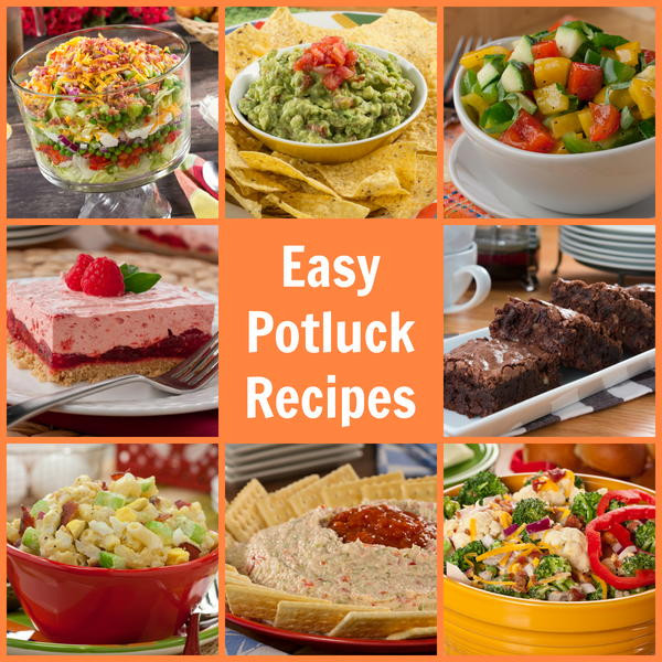 Summer Potluck Main Dishes  Easy Potluck Recipes 58 Party Pleasers