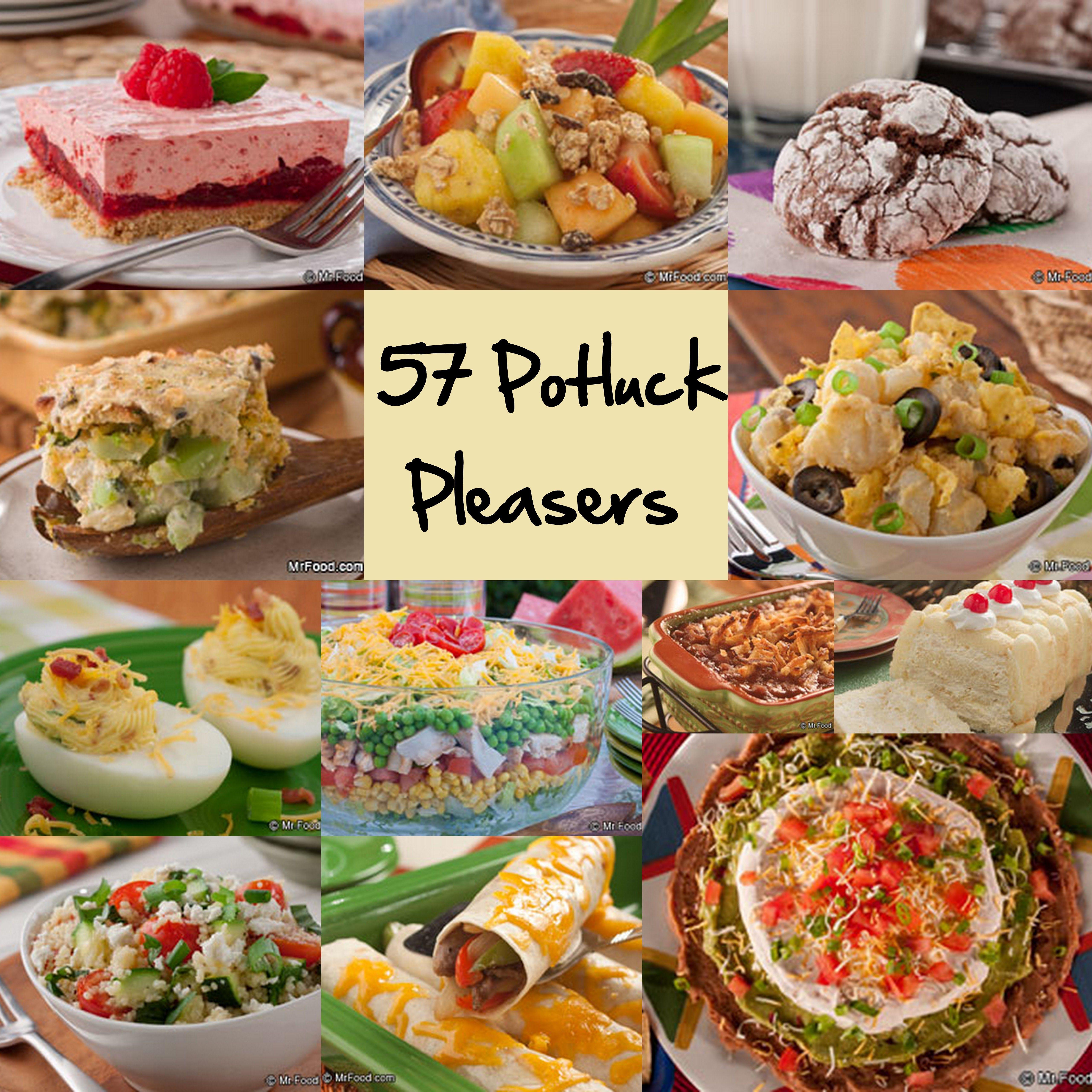 Summer Potluck Main Dishes  Easy Potluck Recipes 58 Potluck Ideas