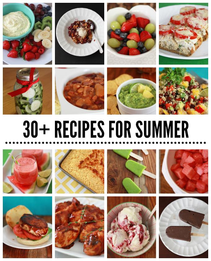 Summer Potluck Main Dishes  Summer Recipes for your next Barbecue or Potluck e