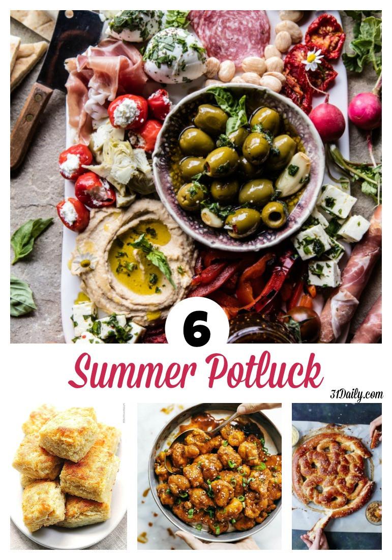Summer Potluck Main Dishes  6 Summer Potluck Worthy Sides 31 Daily