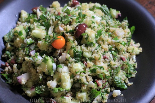 Summer Quinoa Recipes  Easy Summer Recipes Quinoa Salad with Cucumbers and Mint