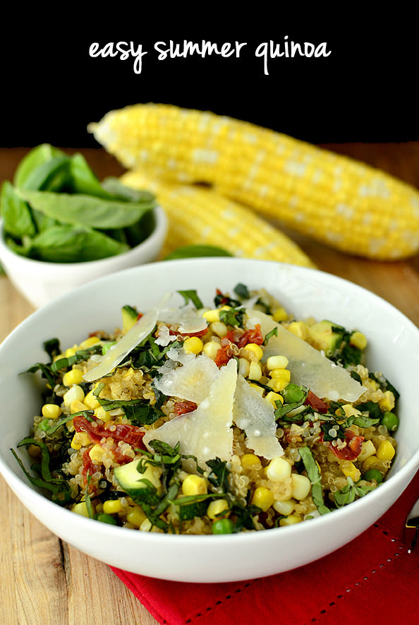 Summer Quinoa Recipes  Easy Summer Quinoa Iowa Girl Eats