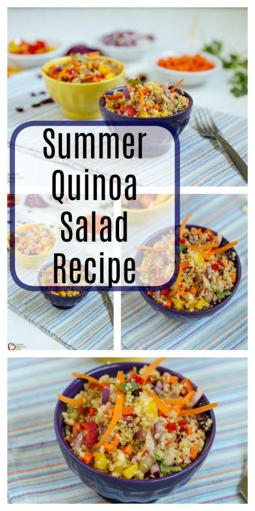 Summer Quinoa Recipes  Summer Quinoa Salad Recipe