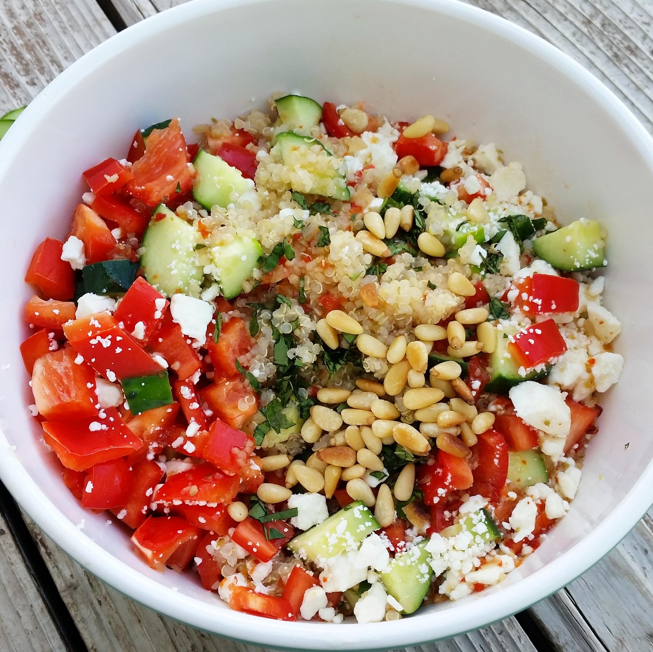 Summer Quinoa Salad  Summer Quinoa Salad – Hearty Smarty