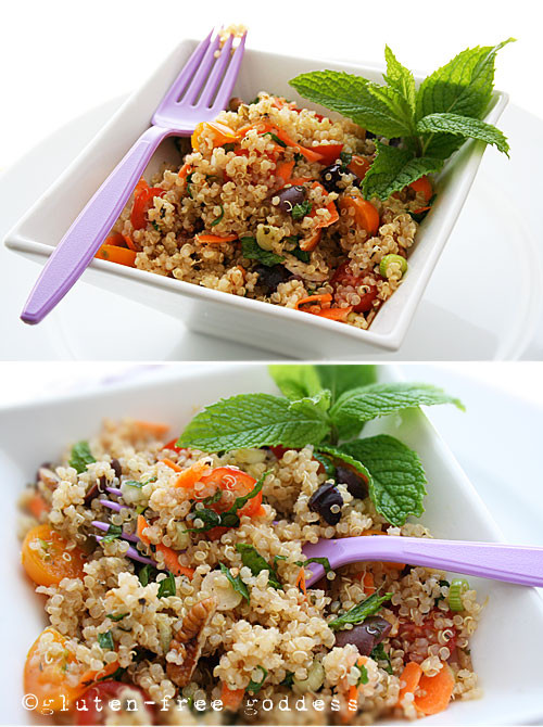 Summer Quinoa Salad Recipe  Gluten Free Goddess Recipes Summer Quinoa Salad