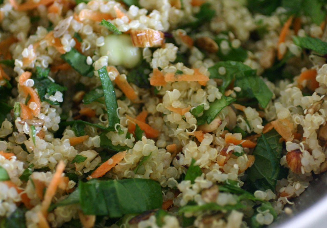 Summer Quinoa Salad Recipe  Alkaline Diet Recipe 148 Cool Quinoa Summer Salad Live