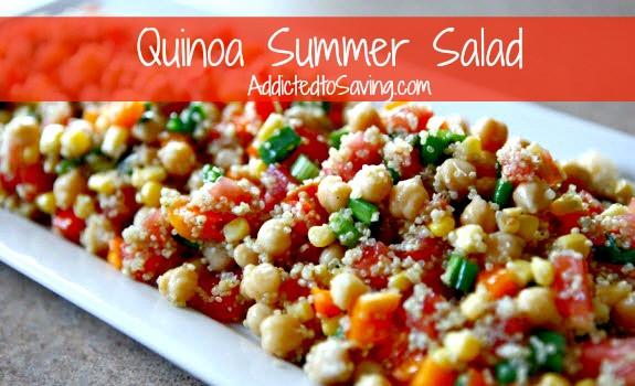 Summer Quinoa Salad Recipe  Quinoa Summer Salad Recipe