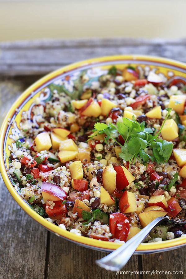 Summer Quinoa Salad  Ultimate Summer Quinoa Salad Yummy Mummy Kitchen