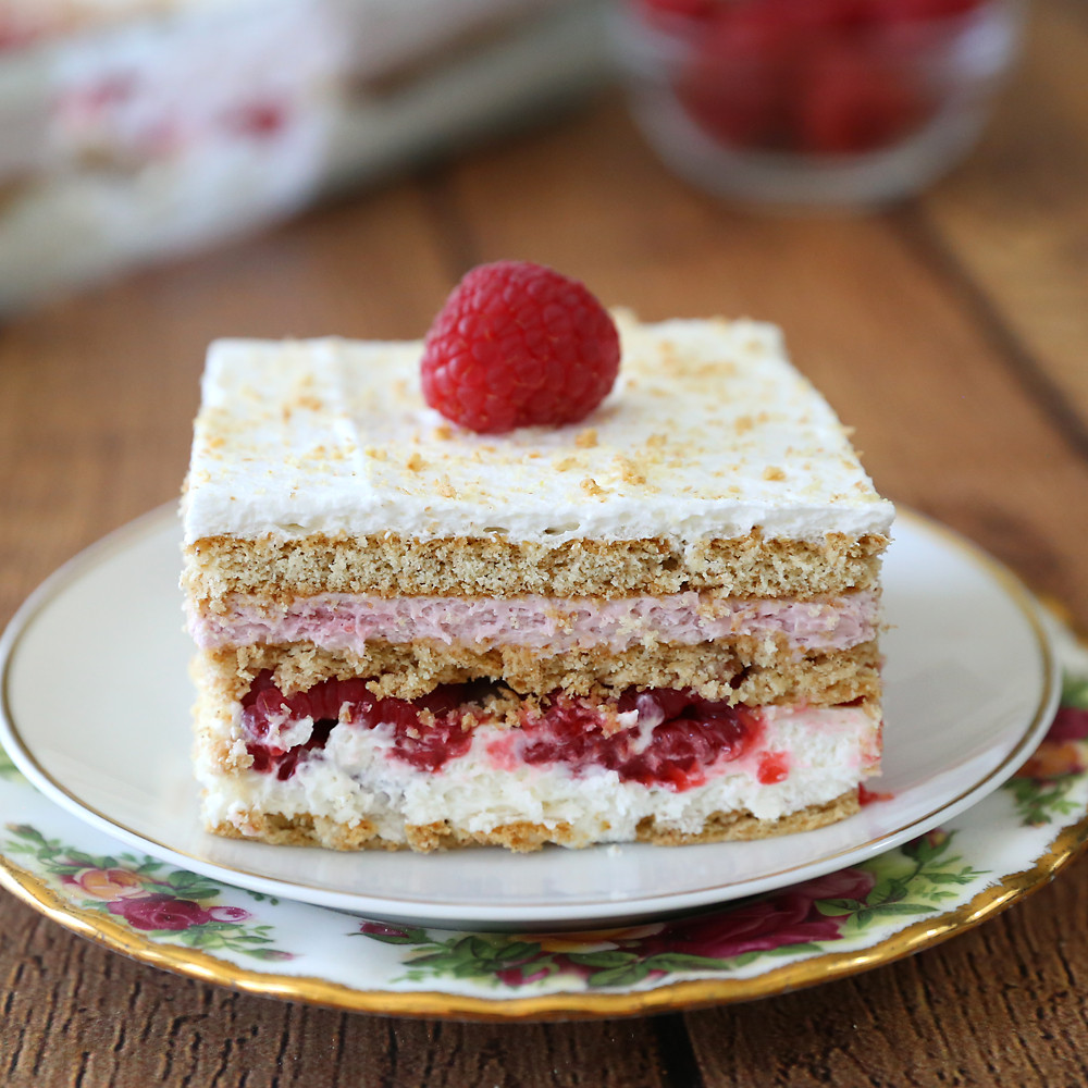 Summer Raspberry Cake My Cafe Recipe  Cold Desserts To Cool f With This Summer Style Motivation
