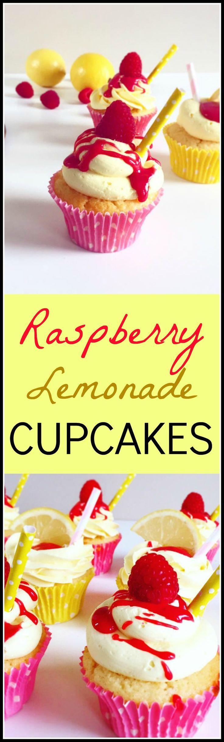 Summer Raspberry Cake Recipe My Cafe  Best 25 Raspberry lemonade cupcakes ideas on Pinterest