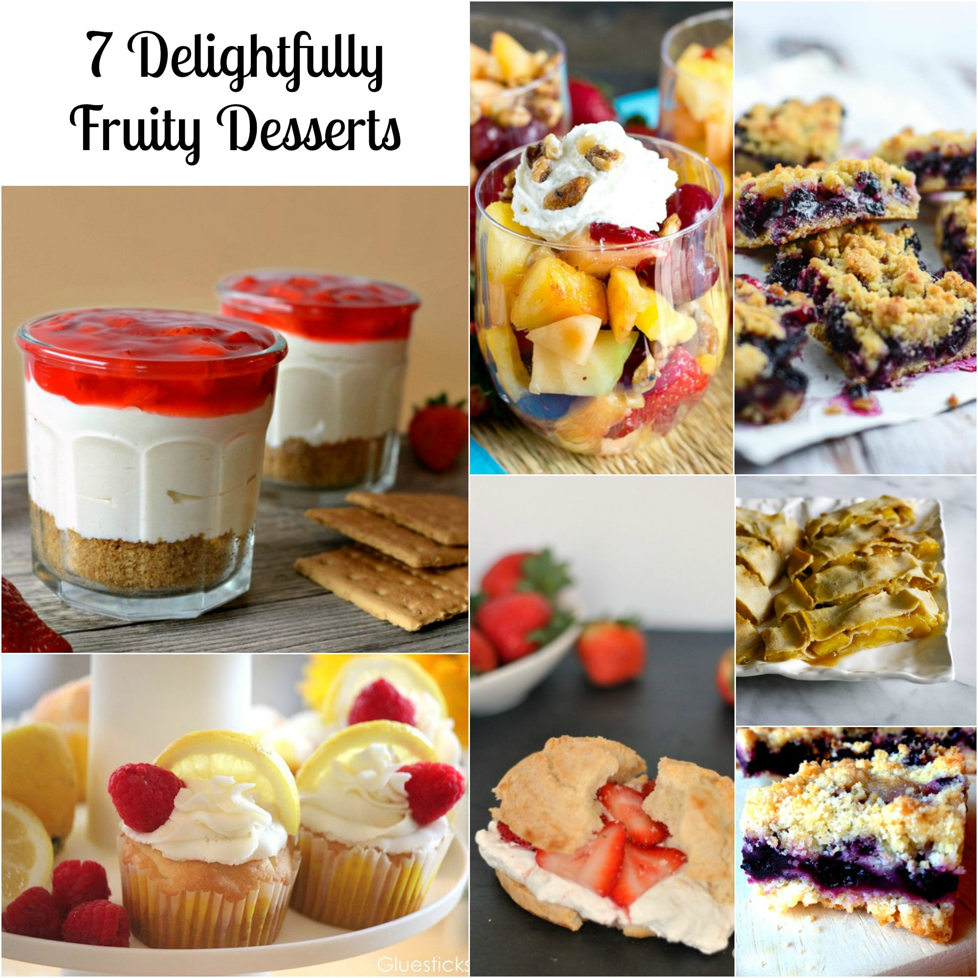 Summer Recipes Desserts  7 Summer Dessert Recipes You Have to Try SoFabFood