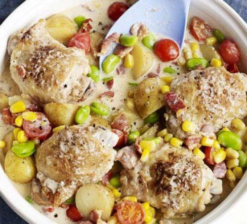 Summer Recipes Dinner  Summer chicken one pot recipe