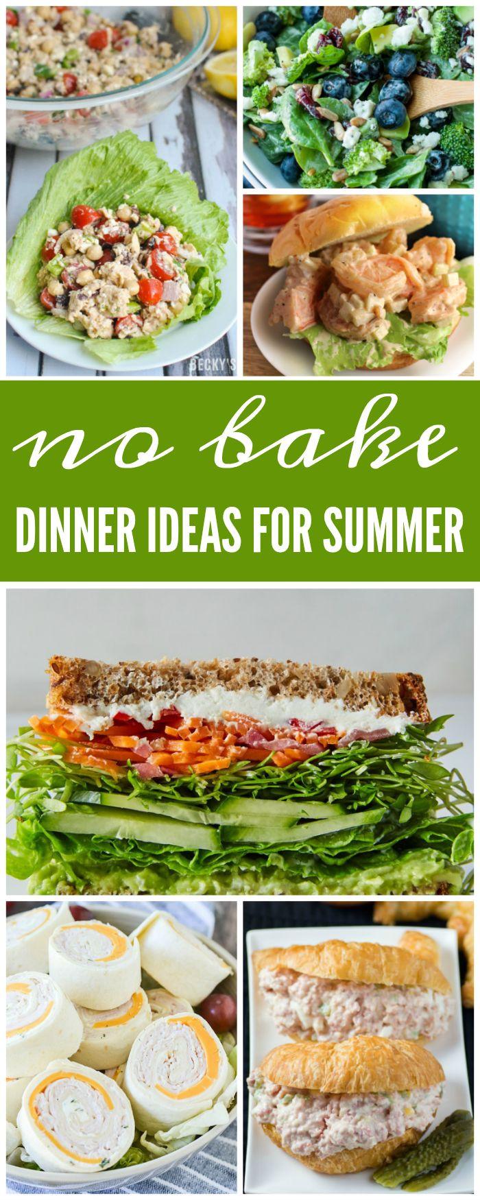 Summer Recipes Dinner  Best 25 Cool summer dinners ideas on Pinterest