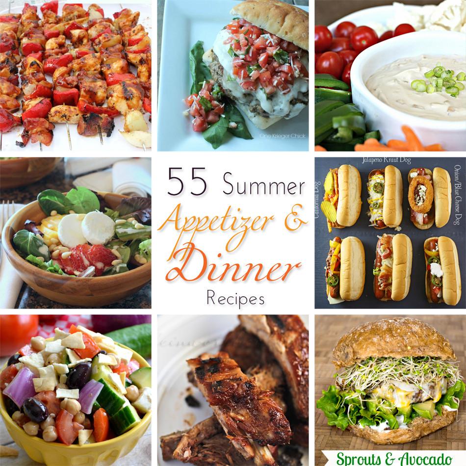 Summer Recipes Dinner  55 Summer Dinner Recipes Kleinworth & Co