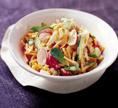 Summer Recipes Indian  Indian summer salad recipe