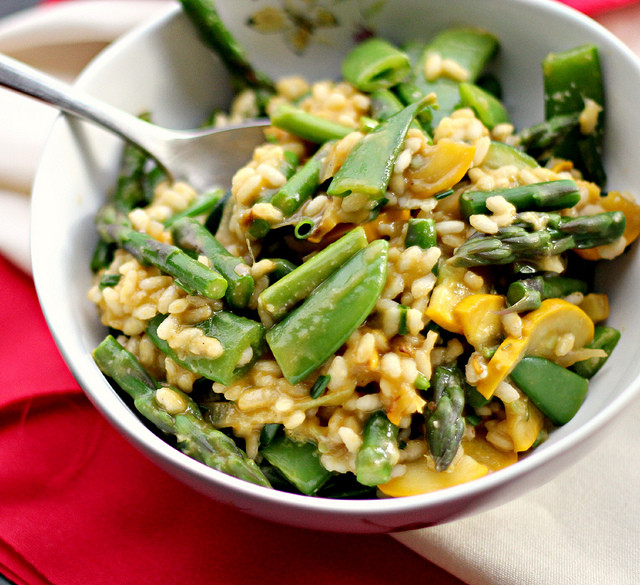 Summer Risotto Recipes  Summer Lemon Ve able Risotto