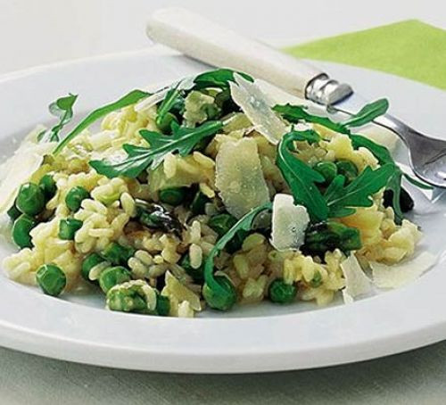 Summer Risotto Recipes  A risotto for early summer recipe