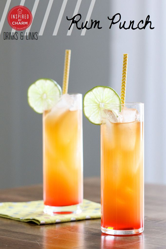 Summer Rum Drinks  Drinks and Links Rum Punch