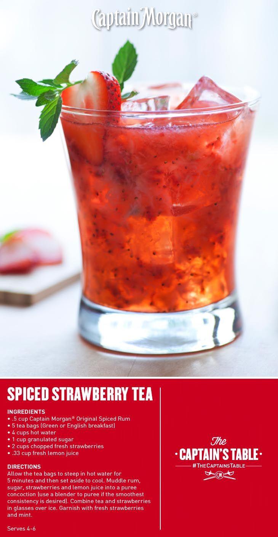Summer Rum Drinks  Get a little fresh with your summer tea