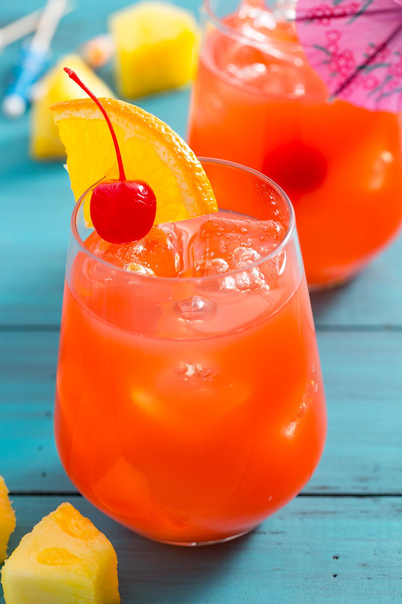 Summer Rum Drinks Easy  Hurricane Drink Recipe