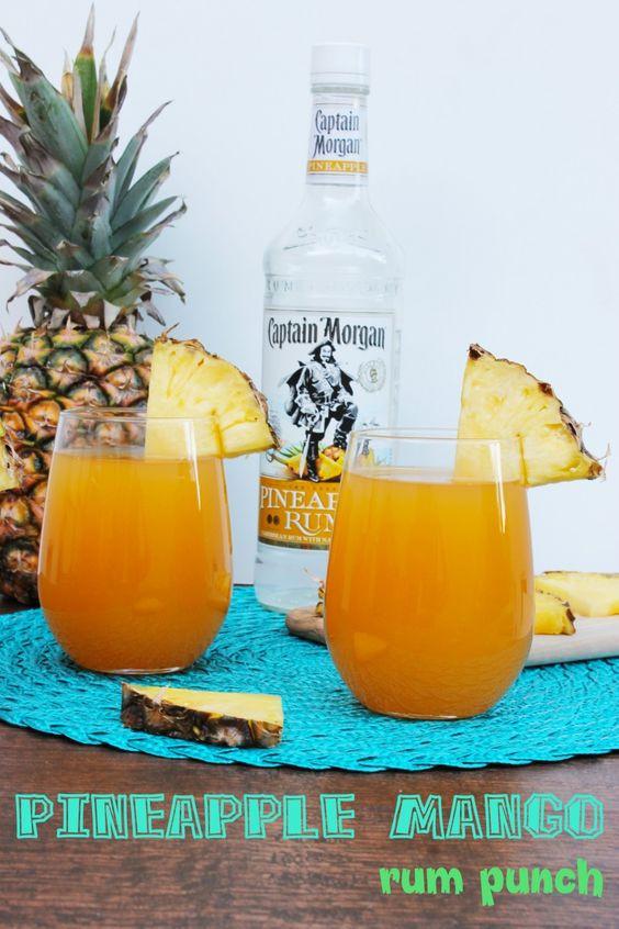 Summer Rum Drinks  Mango rum Rum punches and Pineapple rum on Pinterest