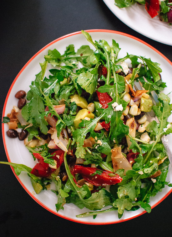 Summer Salad Recipes Vegetarian  Ve arian Grilled Summer Salad Cookie and Kate