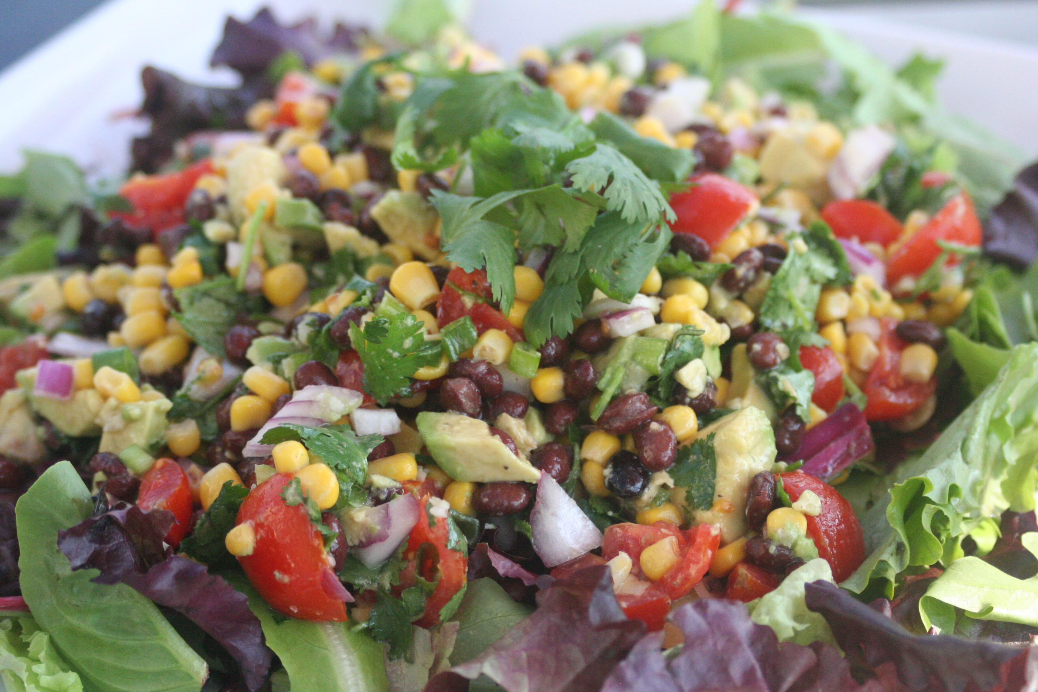 Summer Salad Recipes Vegetarian  The Cooks Next Door Weekend Fare Ve arian Salad