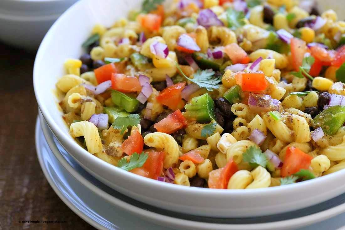 Summer Salad Recipes Vegetarian  Summer Ve able Pasta Salad Recipe